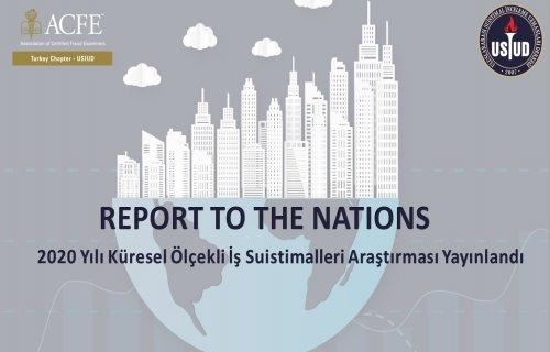 2020 ACFE Report to the Nations yayınlandı...