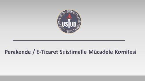 Perakende / E-Ticaret Suistimalle Mücadele Komitesi