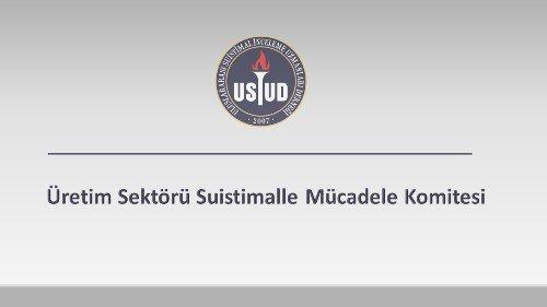 Üretim Sektörü Suistimalle Mücadele Komitesi