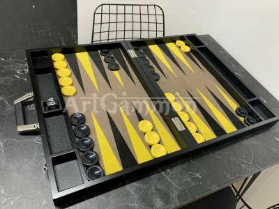Tournament Black  Size Wooden Board