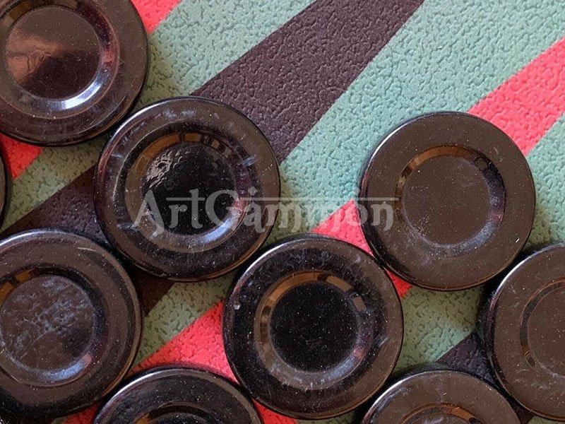 Polyester Tavla Pulu 44.5mm