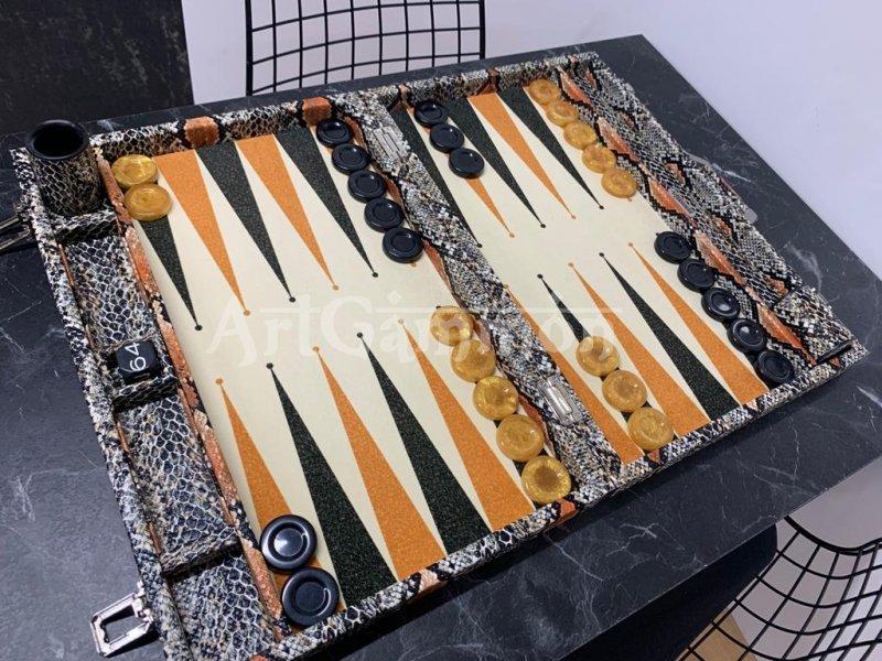 Tournament Size Python Backgammon Board