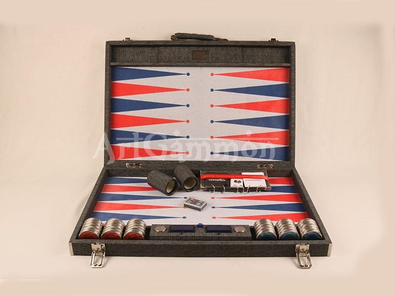 Championship Size Backgammon Board Clocked Version
