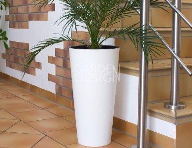 TUBUS SLİM WHİTE 30 x h 57 cm