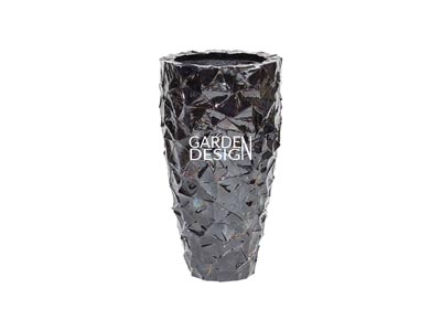 SEASHELL VASE (Black)