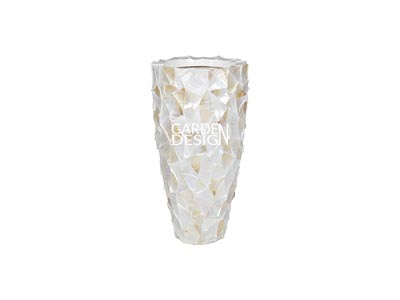 SEASHELL VASE (White)
