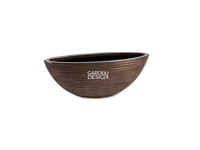 CURVED OVAL (BRONZE)