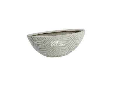 GRAPHIC OVAL (WHITE)
