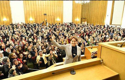 Antalya'nın Cesur Kadınları ile Gazi Meclis'te Genel Başkan ile buluşma